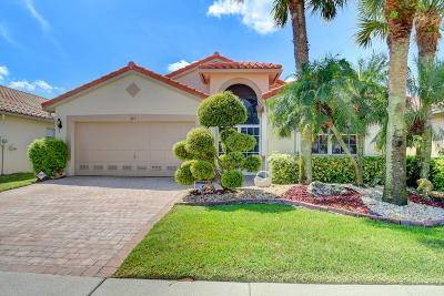 Boynton Beach Single Family Home For Sale: 7165 Haviland Circle