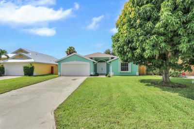 Jupiter Single Family Home Contingent: 6334 Ungerer Street