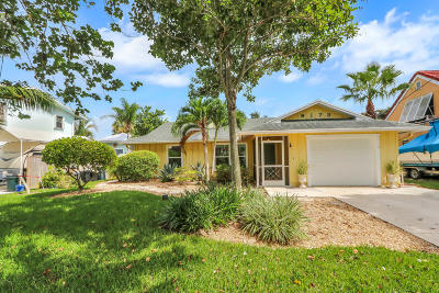 Jupiter Single Family Home For Sale: 6173 Barbara Street