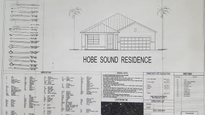 Hobe Sound Single Family Home For Sale: 9056 SE Mars Street