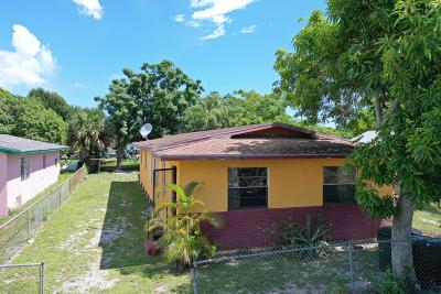 Fort Pierce Single Family Home For Auction: 1508 Avenue I