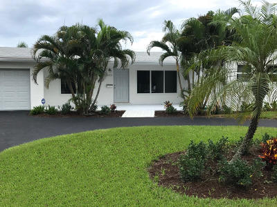 Boynton Beach Single Family Home For Sale: 2702 SW 7 Street