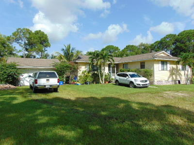 Palm Beach Gardens Single Family Home For Sale: 14771 66th Trail