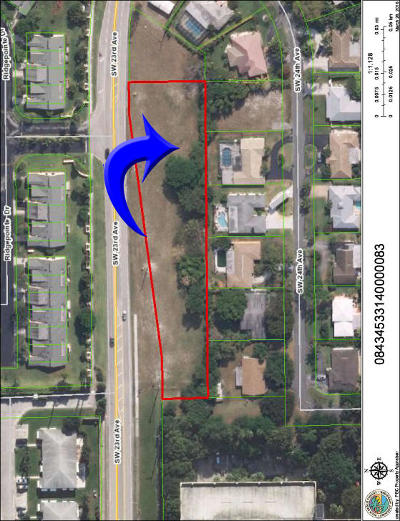 Boynton Beach Residential Lots & Land For Sale: 220 SW 23rd Avenue