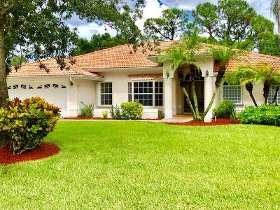 St Lucie County Single Family Home For Sale: 1193 SW Live Oak Cove