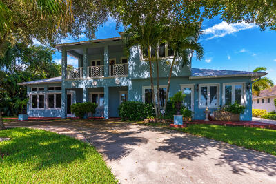 Single Family Home For Sale: 2017 S Indian River Drive