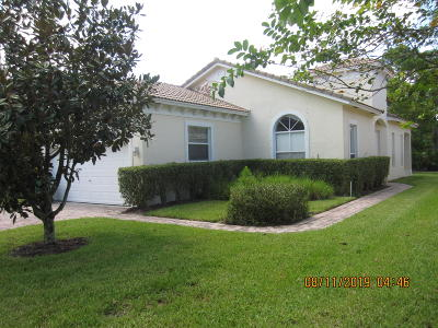Fort Pierce Single Family Home For Sale: 5651 Sunberry Circle