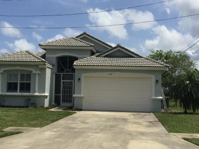 St Lucie County Single Family Home For Sale: 1583 SE Maxim Avenue