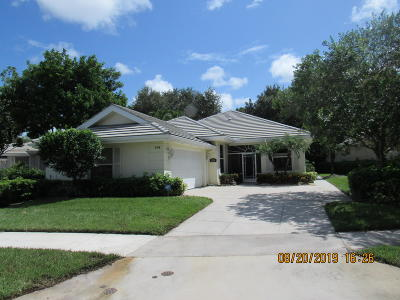 Saint Lucie West Single Family Home For Sale: 124 NW Bentley Circle