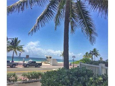 Fort Lauderdale Rental For Rent: 1200 Fort Lauderdale Beach Boulevard #102a
