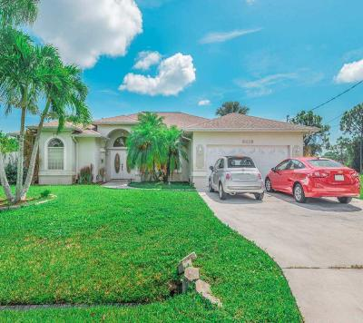 Port Saint Lucie Single Family Home For Sale: 6416 NW Friendly Circle