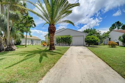 Boynton Beach Single Family Home For Sale: 5395 Courtney Circle