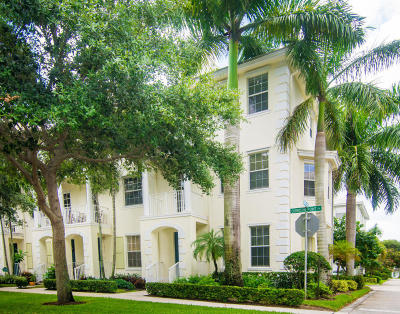 Jupiter Townhouse For Sale: 1480 Corbison Point Place