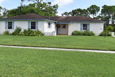Lake Worth, Lakeworth Single Family Home Contingent: 7369 Oakmont Drive