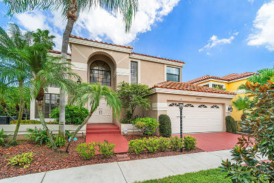 Boca Raton Single Family Home For Sale: 23149 Boca Club Colony Circle