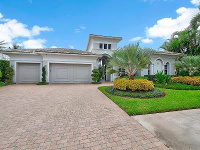 Palm Beach Gardens Single Family Home For Sale: 115 Grand Palm Way