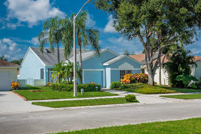 Delray Beach Single Family Home For Sale: 7533 Mansfield Hollow Road