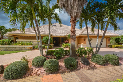 Boca Raton Single Family Home For Sale: 17787 Scarsdale Way