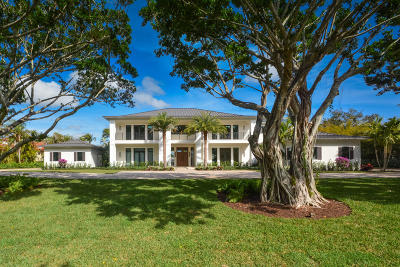 Boca Raton FL Single Family Home For Sale: $6,750,000