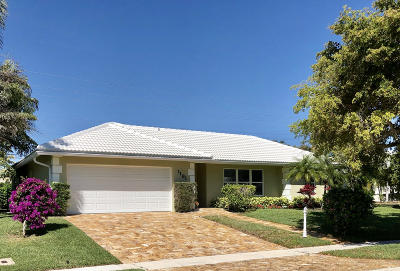Boca Raton FL Single Family Home For Sale: $598,500