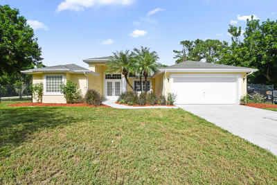 Port Saint Lucie Single Family Home For Sale: 4211 SW Karluk Drive