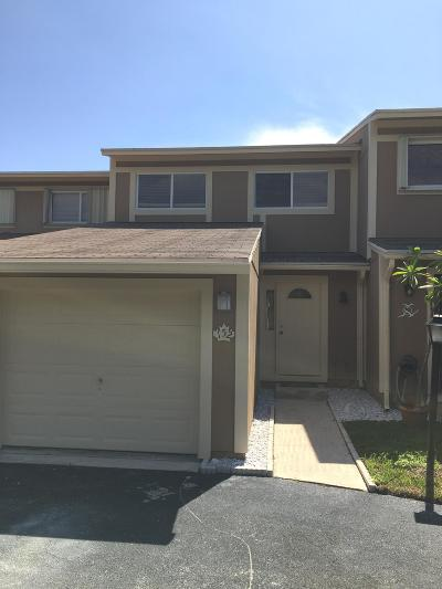 Jupiter Townhouse For Sale: 152 Maplecrest Circle