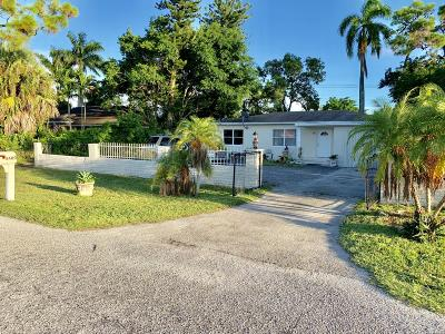 west palm Single Family Home For Sale: 4400 State Drive
