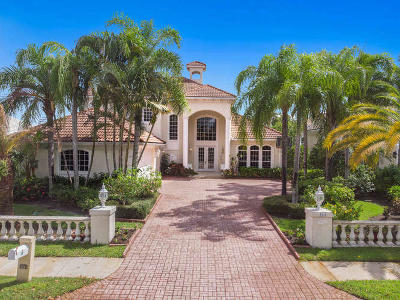 Jupiter Single Family Home For Sale: 144 Sota Drive