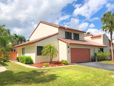 Boca Raton Townhouse For Sale: 21637 Casa Monte Court