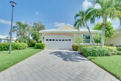 Lake Worth Single Family Home For Sale: 10527 Kinkaid Terrace