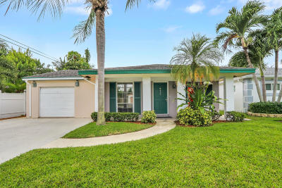 Boca Raton FL Single Family Home For Sale: $399,000