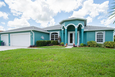 Port Saint Lucie Single Family Home For Sale: 3102 SW Crenshaw Street