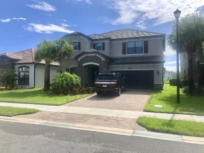 Lake Worth, Lakeworth Single Family Home For Sale: 5488 Sandbirch Way
