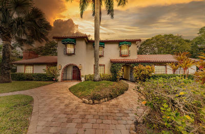 Boca Raton Single Family Home For Sale: 6697 North Grande Drive