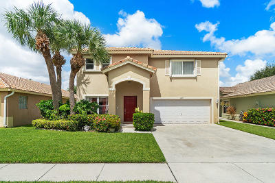 Boynton Beach Single Family Home For Sale: 1007 Fosters Mill Road