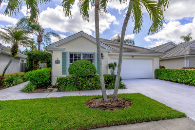 Palm Beach Gardens Single Family Home For Sale: 613 Masters Way