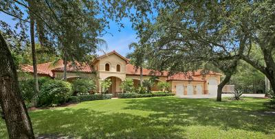 Lake Worth Single Family Home For Sale: 11351 Alligator Trail