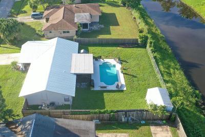 Port Saint Lucie, Saint Lucie West Single Family Home For Sale: 1992 SE Fallon Drive