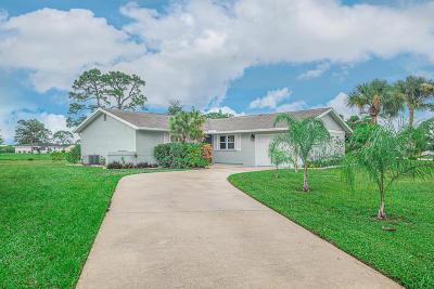 Port Saint Lucie Single Family Home For Sale: 1794 SE Elkhart Terrace