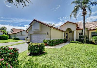 Boca Raton Single Family Home For Sale: 23433 Water Circle