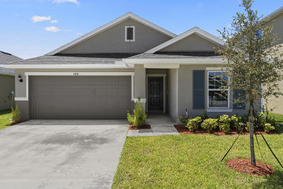 Port Saint Lucie, Saint Lucie West Single Family Home For Sale: 5450 NW Pine Trail Circle