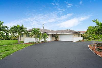 Singer Island Single Family Home For Sale: 1121 Bimini Lane
