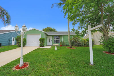 Lake Worth Single Family Home For Sale: 5283 W Canal Circle W