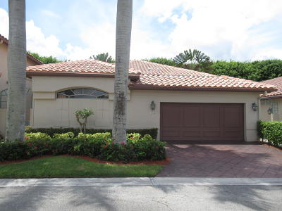 Boca Raton FL Single Family Home For Sale: $109,900
