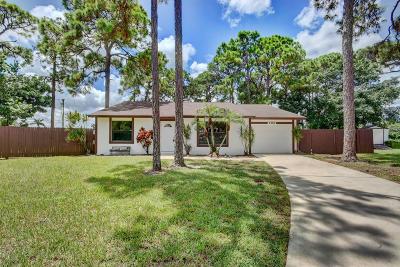 West Palm Beach Single Family Home For Sale: 2487 Lena Lane