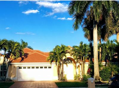 Boca Raton Single Family Home For Sale: 10727 Maple Chase Drive Drive