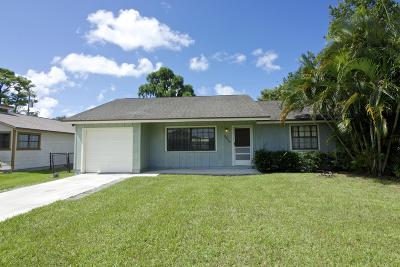 Jupiter Single Family Home For Sale: 6043 Felter Street