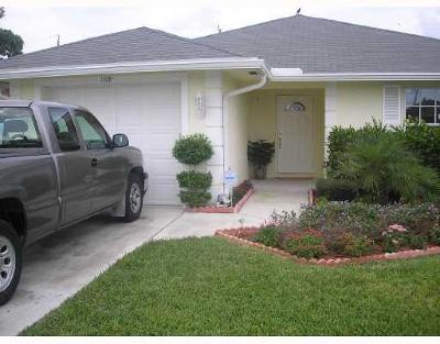 Lake Worth Single Family Home For Sale: 1109 S H Street