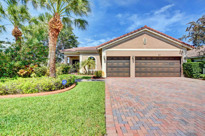 Royal Palm Beach Single Family Home For Sale: 117 Bella Vista Way