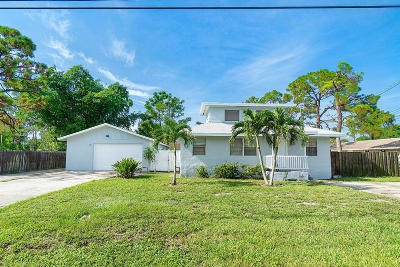 Lake Worth Single Family Home For Sale: 5115 Maine Street